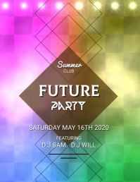 FUTURE PARTY VIDEO TEMPLATE