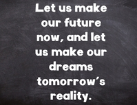 Future quotes Flyer (US Letter) template