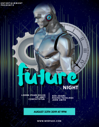 Future Robotic Night Flyer Template