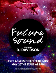 Future Sound Flyer