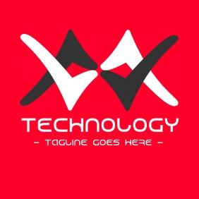 futuristic logo