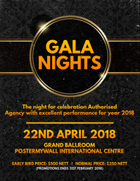 Gala Nights Flyer