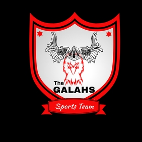 Galahs Emblem Logo template
