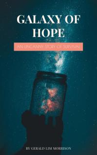 Galaxy in a Jar Book Cover Template