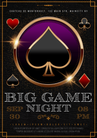 GAMBLING NIGHT POSTER