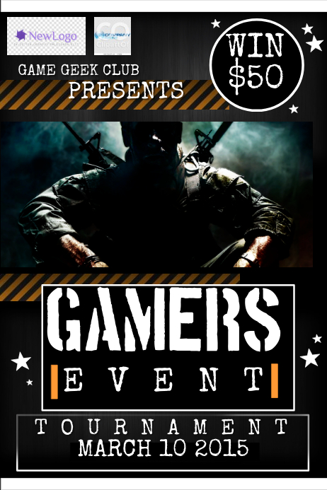 Game Flyer template | PosterMyWall