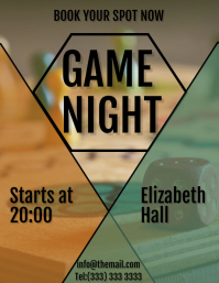 Game night flyer 2