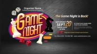 Game Night Twitter Post Wpis na Twittera template