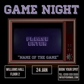 Game night video