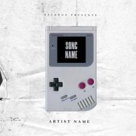 Game Over Mixtape Cover Art Template