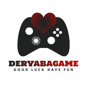 Gamer Gamepad Logo Red โลโก้ template