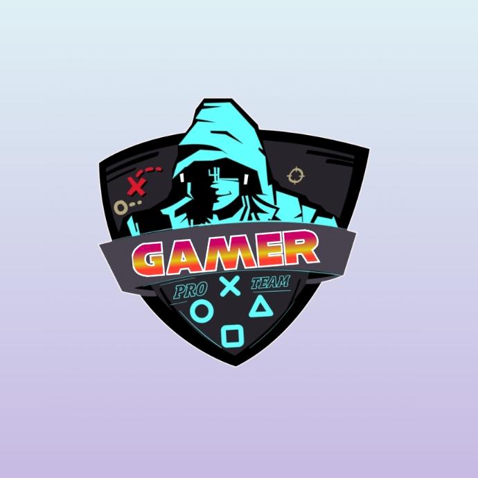 gamer logo template