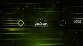 Gamer Youtube Channel Art Banner Template