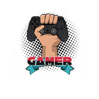 gamers logo template