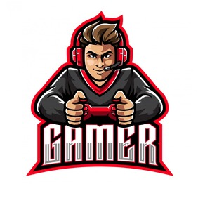gamers logo template