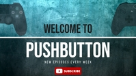 Gaming Channel Banner Youtube Header template