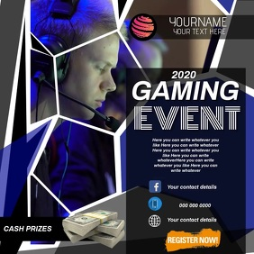 GAMING EVENT AD SOCIAL MEDIA DIGITAL VIDEO