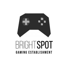 Gaming Joystick logo template