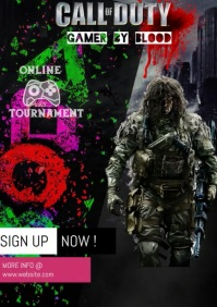120 Call Of Duty Customizable Design Templates Postermywall
