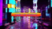 Gaming Social Media Marketing Template Ecrã digital (16:9)