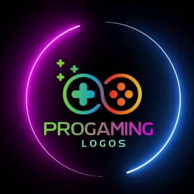 GAMING VIDEO LOGO SOCIAL MEDIA