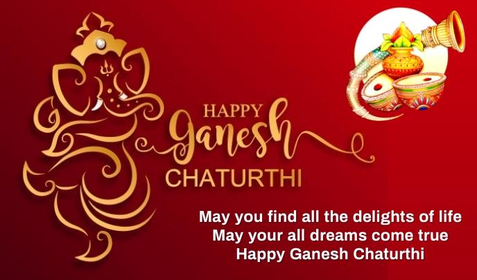 Ganesh chaturthi Tag template