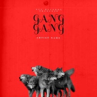 gang gang mixtape cover video template