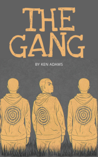 Gang Street life book cover template