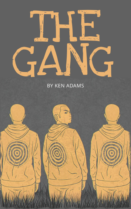 Gang Street life book cover template Kindle/Book Covers