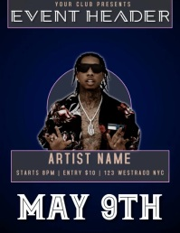 GANGSTER EVENT FLYER VIDEO TEMPLATE