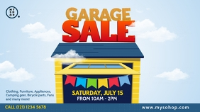 Garage Sale Advert