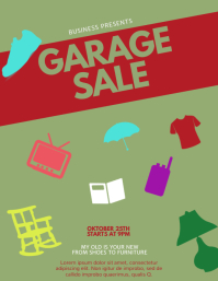 5 690 customizable design templates for garage sale poster