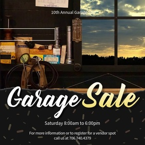 Garage Sale Instagram Video Ad