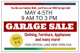 Customizable Design Templates for Garage Sale Poster | PosterMyWall