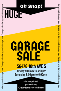 Garage Sale Flyer Templates | PosterMyWall