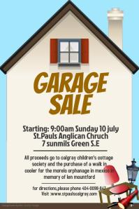 rummage sale flyer template