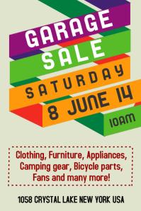 Garage Sale Template Poster