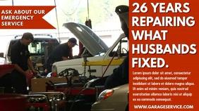 Garage Service Video Ad Template