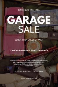 Garage Yard Sale Flyer design template