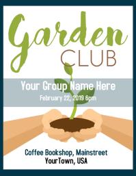 Garden Club Flyer