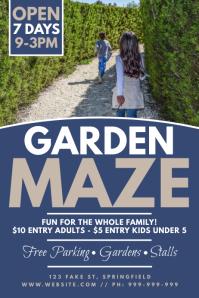 Garden Maze Poster