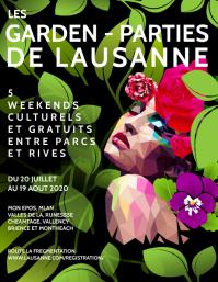 Garden Party katherine Flyer Template