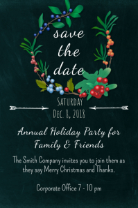 Garden Save the Date