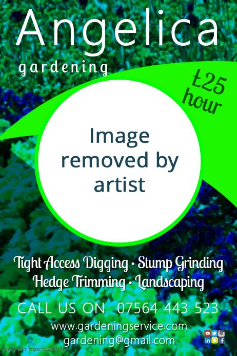 gardener leaflet template
