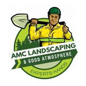 Gardening Landscaping Logo template