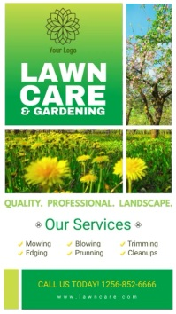 Gardening Service Digital Display Ad