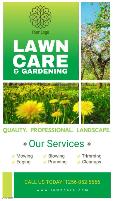 Gardening Service Digital Display Ad