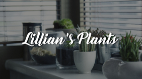 Gardening YouTube Channel Art Template