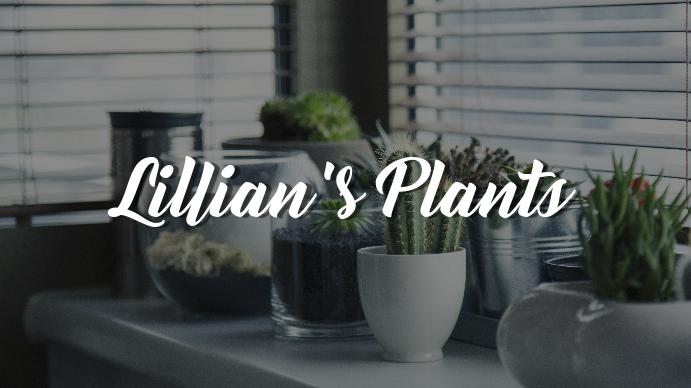 Gardening YouTube Channel Art Template