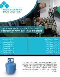 Gas Company Video Flyer Template